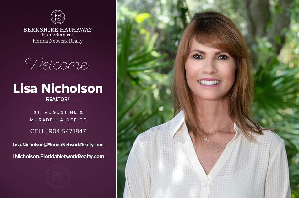 Berkshire Hathaway Homeservices Florida Network Realty Welcomes Lisa Nicholson Real Estate Jacksonville