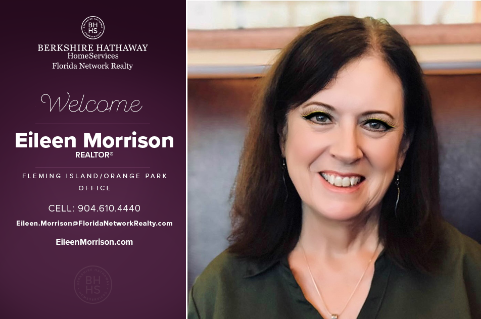 Berkshire Hathaway Homeservices Florida Network Realty Welcomes Eileen Morrison Real Estate Jacksonville